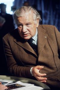 File photo of Sir Peter Ustinov, British actor and dramatist, at the European Parliament.