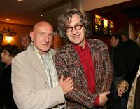 Wim Wenders and Ben Kingsley at the California premiere of