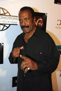 Fred Williamson at the book release party and fundraiser for Sam Childer's new book