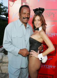 Fred Williamson and Playmate Ava Fabian at the 13th Annual Espy.