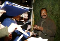 Fred Williamson at the Los Angeles premiere of