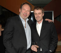 Hans Zimmer and composer Harry Gregson-Williams at the cocktail reception during the Crescendo Award.