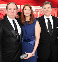 Hans Zimmer, Suzanne Zimmer and Guest at the 82nd Annual Academy Awards.