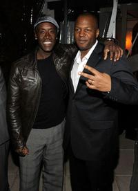 Don Cheadle and Michael C. Martin at the New York premiere of