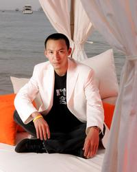 Chang Chen at the 58th International Cannes Film Festival, poses for the film