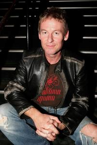 Richard Roxburgh at the opening night of his latest production