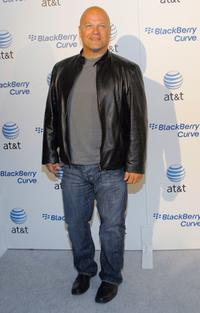 Michael Chiklis at the launch party for the new BlackBerry Curve at The Regent Beverly Wilshire Hotel.