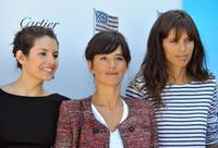 Louise Monot, Romane Bohringer and Maiwenn at the 35th edition of the American Film Festival of Deauville.