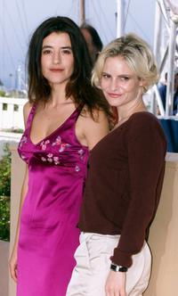 Romane Bohringer and Jennifer Jason Leigh at the photocall of