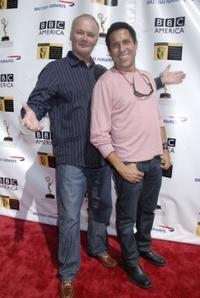 Creed Bratton and Oscar Nunez at the 5th Annual Primetime Emmy Nominees BAFTA Tea Party.