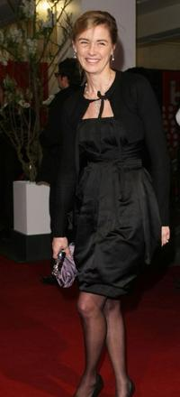 Anne Consigny at the premiere of