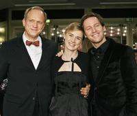 Ulrich Tukur, Anne Consigny and Florian Gallenberger at the premiere of