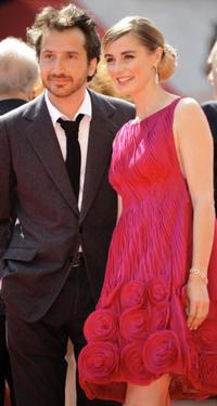 Edouard Baer and Anne Consigny at the screening of
