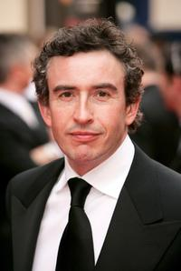 Steve Coogan at the Pioneer British Academy Television Awards.