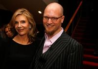 Jill Clayburgh and Augusten Burroughs at the world premiere of