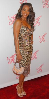 Vivica A. Fox at the Will and Jada Smith party in honor of Mary J. Bliges.