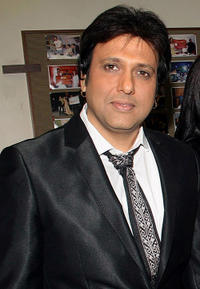 Govinda at the press conference to announce the club's New Year bash in Mumbai.
