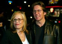 Teddi and Gary Cole at the premiere of