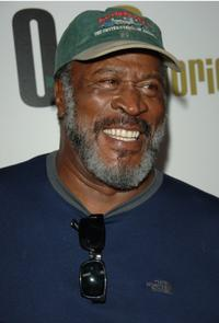 John Amos at the launch party for Our Stories Films.