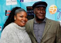 Mo'Nique and John Amos at the National Launch of