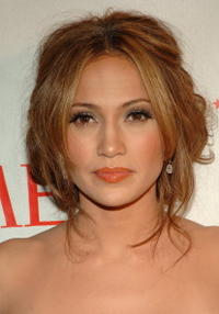 Jennifer Lopez at Time Magazine's 100 Most Influential People event.