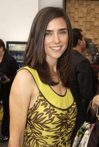Jennifer Connelly at Olympus Fashion Week Spring 2005.