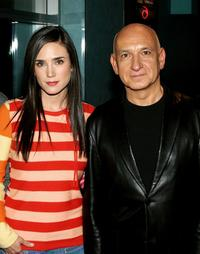 Jennifer Connelly and Ben Kingsley at the screening and Q and A of