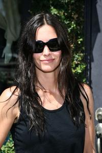 Courteney Cox Arquette at the Stella McCartney And Tastybaby 2008 collection preview event.