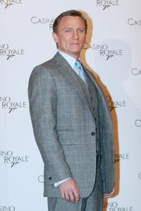 Daniel Craig at the photocall in Rome for