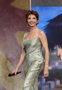 Victoria Abril at the opening ceremony of the 57th Cannes International Film Festival.