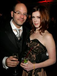 David Cross at the Fox Golden Globe After Party.