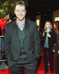 Russell Crowe at the at the premiere of