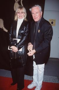 Robert Culp and his wife pose at the Best Friends Animal Sanctuary.