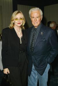 Robert Culp and Candace at the
