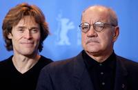 Willem Dafoe and Berlinale Jury President Paul Schrader at the 57th Berlinale International Film Festival.