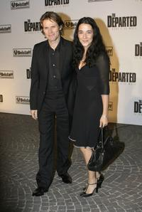 Willem Dafoe and wife director Giada Colagrande at the Rome Film Festival.
