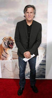 Producer David Womark at the California premiere of