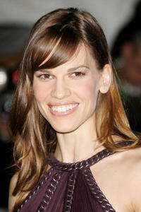 Hilary Swank at the Metropolitan Museum of Art Costume Institute Benefit Gala in New York City.