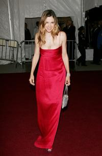 Mira Sorvino at the Metropolitan Museum of Art Costume Institute Benefit Gala.