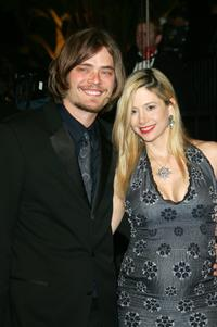 Mira Sorvino and husband Christopher Backus at the Vanity Fair Oscar Party.