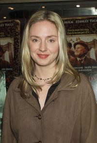 Hope Davis at the New York premiere of