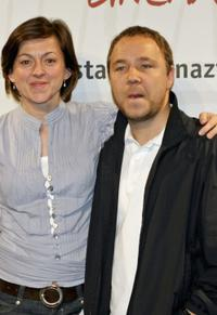 Jo Hartley and Stephen Graham at the photocall of