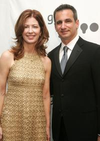 Dana Delany and GLAAD President Neil Giuliano at the 18th annual GLAAD Media Awards.