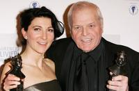 Brian Dennehy and Eve Best at the Laurence Olivier Awards at the London Hilton.