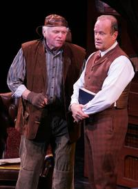 Brian Dennehy and Kelsey Grammer at the final dress rehearsal for My Fair Lady.