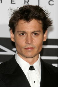 Johnny Depp at The Actors Fund of America's gala