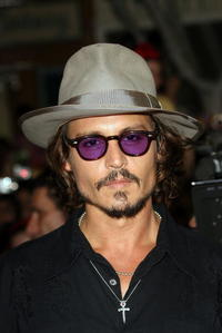 Johnny Depp at the world premiere of