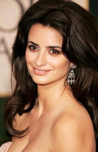 Penelope Cruz at the 63rd Annual Golden Globe Awards in Beverly Hills.