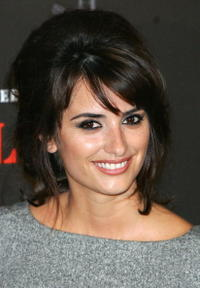 """Penelope Cruz at a photocall for """"Volver"""" in Madrid, Spain."""