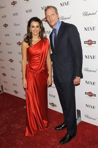 Penelope Cruz and Marc Hruschka at the New York premiere of